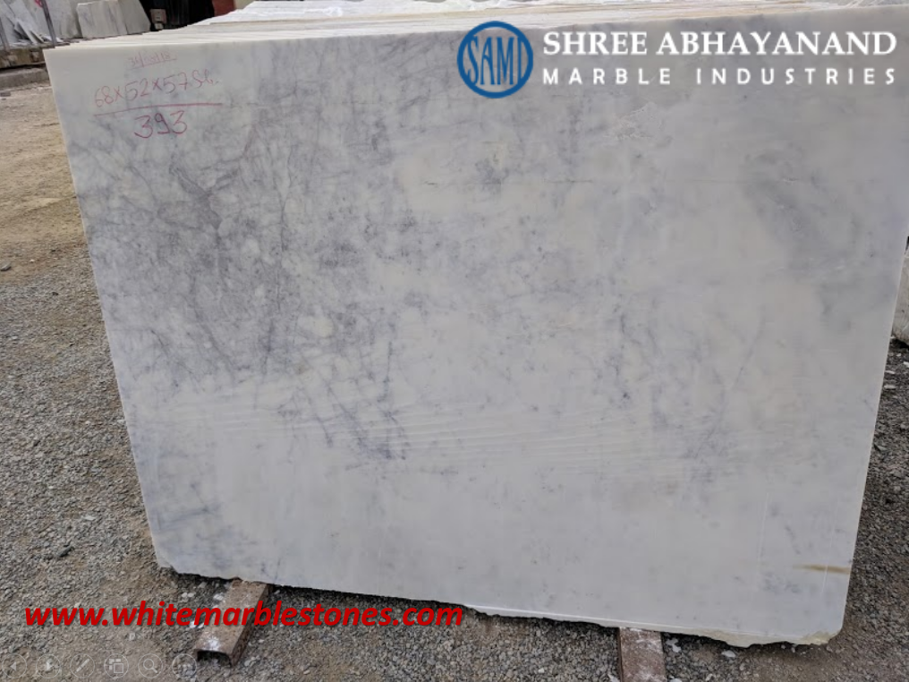 2. Banswara Purple, White Marble Shree Abhayanand